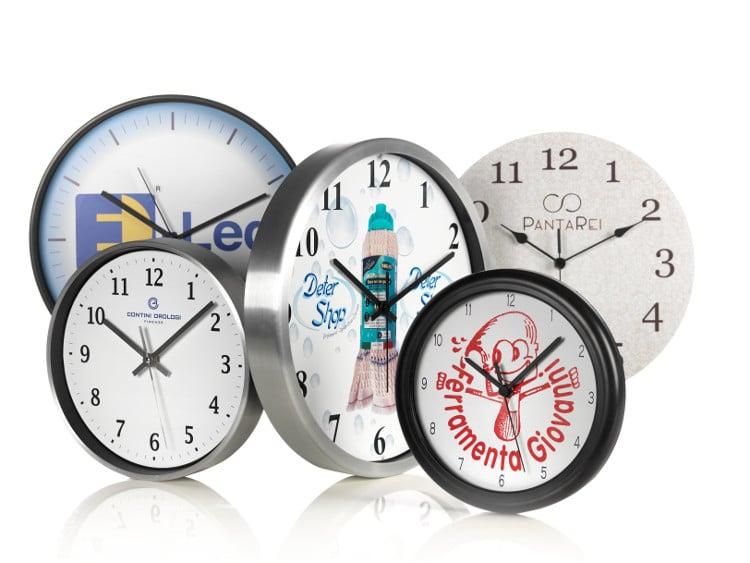 Orologi da parete promozionali e pubblicitari